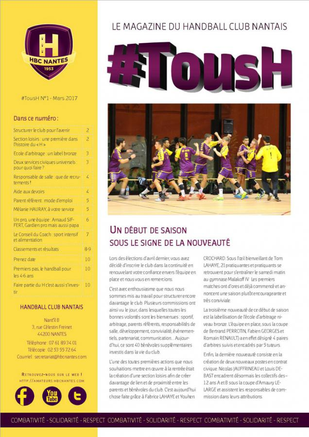 Magazine #TousH n° 1
