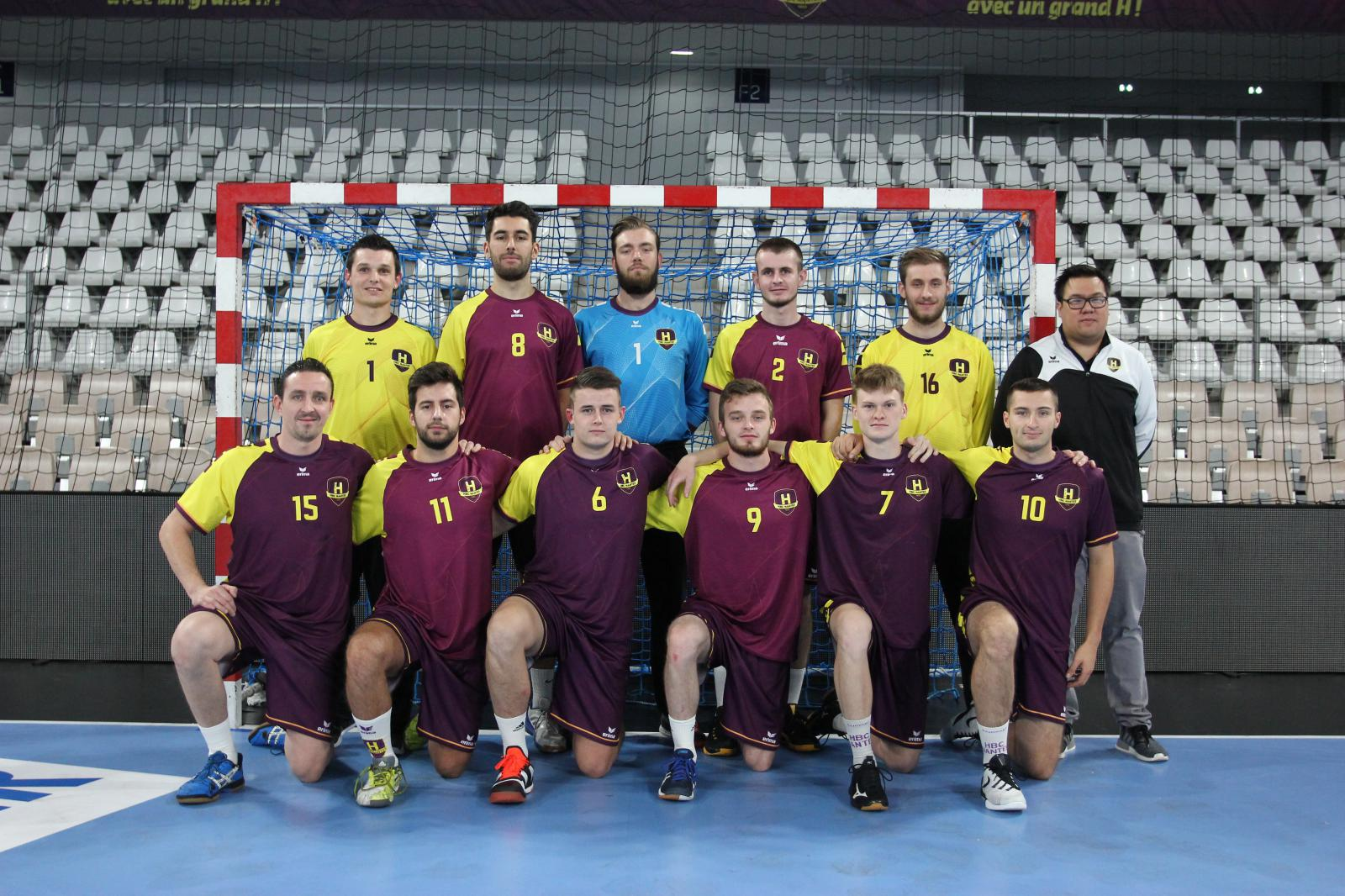 Seniors Masculins 3 Excellence Régional - HANDBALL CLUB NANTAIS